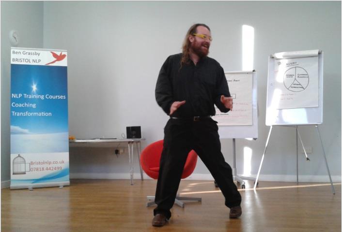 Ben Grassby, Bristol NLP Ltd's Lead Trainer
